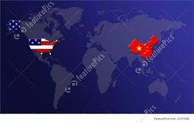 World Map Usa by World Map Illustration