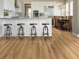 oak kitchen cabinets with oak flooring new trend of european oak evergreen hardwood floors