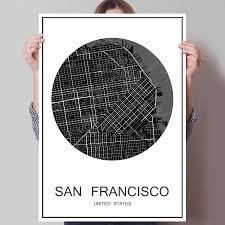 Home Decor San Francisco Online Get Cheap Cities Canvas San Francisco Aliexpress Com