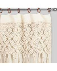 Curtains World Market Holiday Shopping Is Here Get This Deal On Macrame Curtains With
