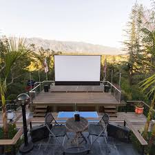 Backyard Theater Ideas Reasons Why You Should Choose Outdoor Home Theater Over Indoors