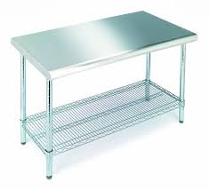 Kitchen Work Tables Islands by Best 20 Stainless Steel Prep Table Ideas On Pinterest Stainless