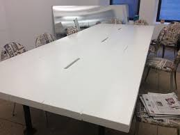 White Gloss Meeting Table Conference Table Gloss White Yelp