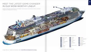 anthem of the seas inside layout revealed royal caribbean blog
