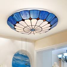 Dining Ceiling Lights Aliexpress Com Buy Led Ceiling Light Tiffany Lamps Cloud Shaped