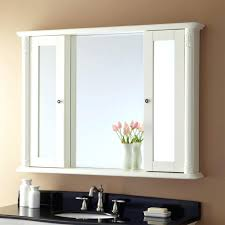 wall ideas stainless steel bathroom corner wall mirror cabinet