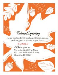 thanksgiving honolulu invitations u2014 aloha
