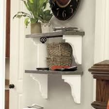 wooden zinc shelf 3ft european inspired home furnishings