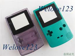 Gameboy Color With Logo Full Set Shell Case Casing Cover For Gameboy Color Gbc by Gameboy Color