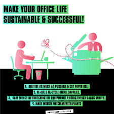 green living work up a storm in a sustainable u0026 efficient office