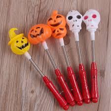 aliexpress com buy halloween single headed pumpkin flash led
