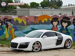 Audi R8 Silver - audi u2013 wheels boutique