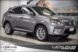 lexus suv hybrid 2014 used 2014 lexus rx 450h for sale pricing features edmunds