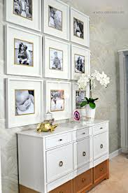 Wall Decor Archives Ikea Hackers by Using Gold Colored Card Stock Behind Photos And Under The Matting