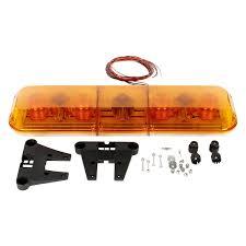mirror mount beacon lights truck lite 92671y permanent mount gas discharge yellow beacon