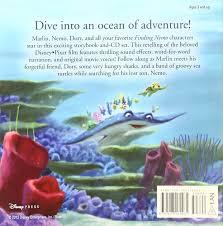 Finding Nemo Story Book For Children Read Aloud Finding Nemo Read Along Storybook And Cd Disney Book Disney
