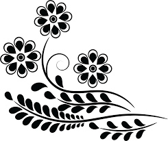 design clipart free clipart of a flower design