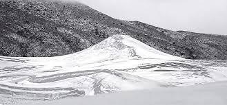 Snow In Sahara Snowfall In The Sahara The New Indian Express