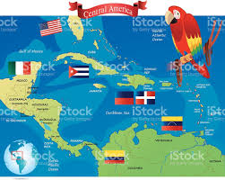 Central America And Caribbean Map by Caribbean Map Clip Art Vector Images U0026 Illustrations Istock
