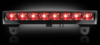 2005 gmc yukon xl third brake light 264114bk led 3rd brake light smoked
