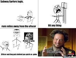 Subway Meme - subway surfers by harsh75 meme center