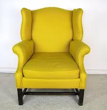 Ebth Chair Pair Of Ethan Allen Wingback Chairs Ebth Chair Cs1 Ethan