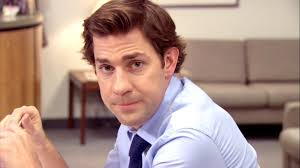 jim halpert hairstyle this website makes the office characters stare at you in every