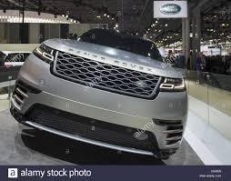 manhattan new york usa 12th apr 2017 land rover 2018 range