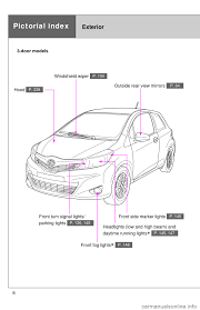 toyota yaris 2013 3 g owners manual