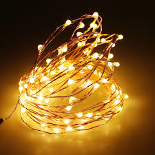 outdoor battery christmas lights 3aa battery powered 4m 40 led strip copper wire christmas lights