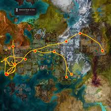 Dr Map Map Of The Ley Lines Based On What We Know Guildwars2