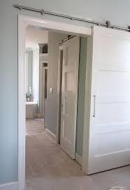 Modern Barn Modern Barn Doors Solution For Awkward Spaces Hometalk