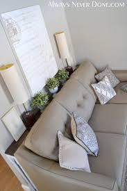 25 sofa table tutorial