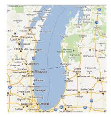 Midland Michigan Map by Map Lake Michigan Michigan Map