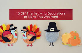 10 diy thanksgiving decorations to make this weekend your home
