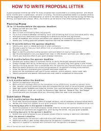 Write Event Proposal Letter 10 How To Write A Business Proposal Letter Mystock Clerk