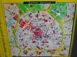 Aachen Germany Map by Aachen