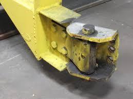 abel howe 2 ton cantilever jib crane wall mount 16 u0027 span 6