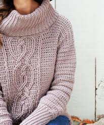 cable sweater entwined chic cable sweater