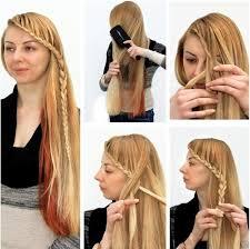 Frisuren Lange Haare Selber Machen by Glã Tteisen Frisuren Zum Selbermachen 2017 Frisuren Und Haircut