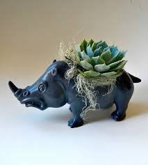 animal planter 22 whimsical planters inspired by exotic wildlife best of interior