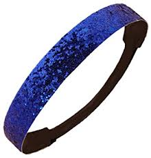 blue headband glitter headband store blue glitter headband