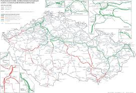 Germany Rail Map by Maps Czech Network