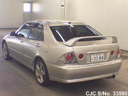 lexus altezza for sale in japan 2000 toyota altezza silver for sale stock no 33590 japanese