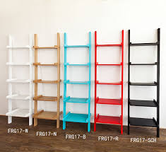 wood corner bookcase haotian modern ladder bookcase made of wood book shelf stand