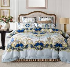 Royal Bedding Sets Bohemia Mandala Bedding Set Cotton Luxury European Royal