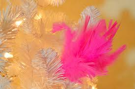 diy feather sprays perfect for uncommon christmas color themes