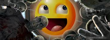 Meme Facebook Cover - smiley zombies meme facebook cover funny