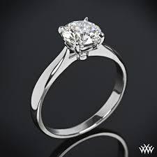 engagement ring solitaire legato sleek line solitaire 728