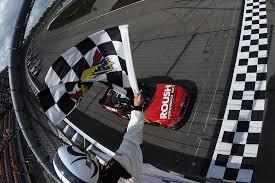 Flags In Nascar Chris Buescher Won The 5th Annual 3m 250 Nascar Xfinity Series Race
